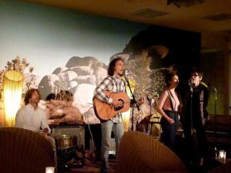 w/ Fort King and Ruthann Friedman, somewhere in LA 2011