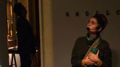 Rita Braga & Marc Behrens performance in Sismografo, Porto (February 2015)