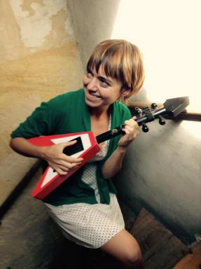 trying a new instrument in Bordeaux, September 2015