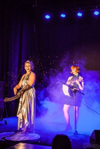 with Vila Vanilla at Ministry of Burlesque, Warsaw June 2016