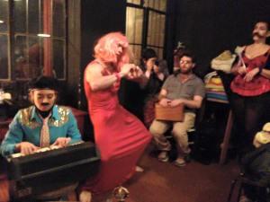 """the """"un-wedding"""" cabaret live at Gato Vadio, Porto 2016"""
