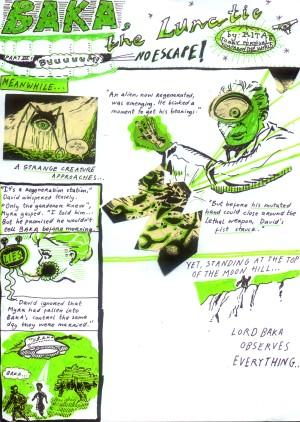 Lord Baka comics (made in Serbia 2006)