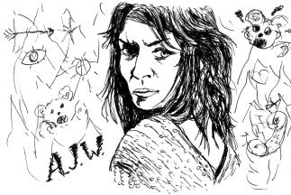 portrait of Amanda Jo Williams