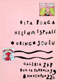 artwork by Rita Braga (concert at ZDB in Lisbon)