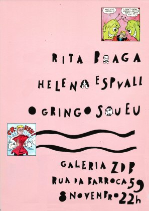 artwork by Rita Braga (concert at ZDB in Lisbon)